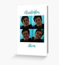 P-Chris - Skam Greeting Card