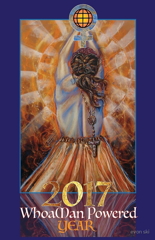 2017 The year of the WhoaMan by evon ski