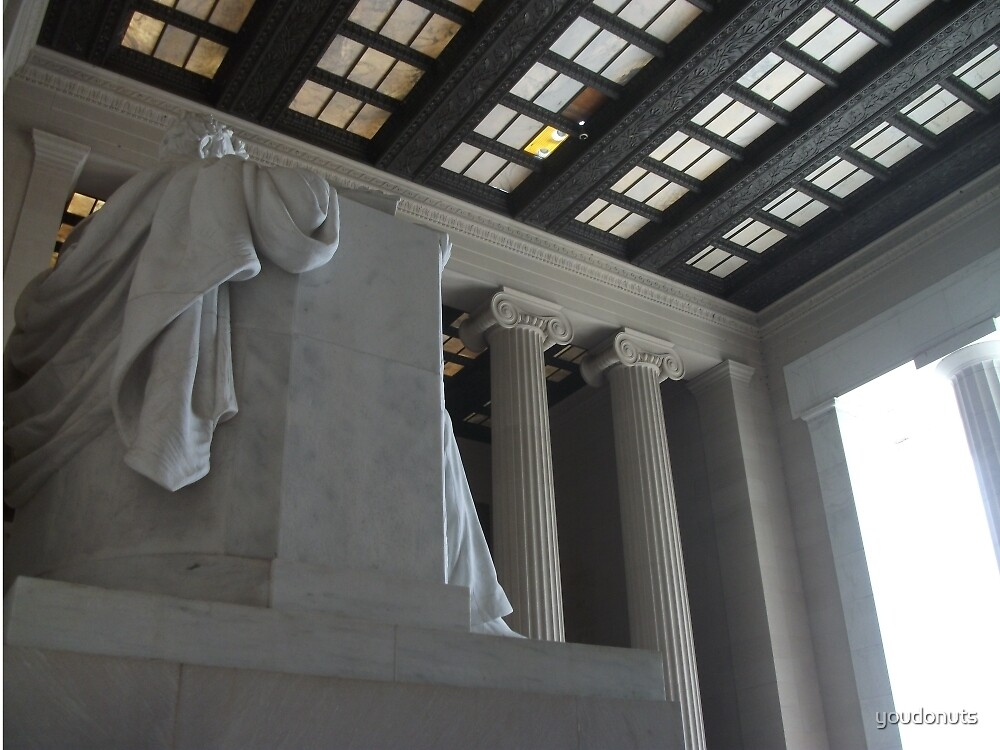 Artistic Lincoln Memorial by youdonuts