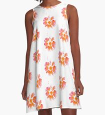 Charleston Spring Time Flower  A-Line Dress
