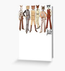 Anthropomorphism Greeting Card