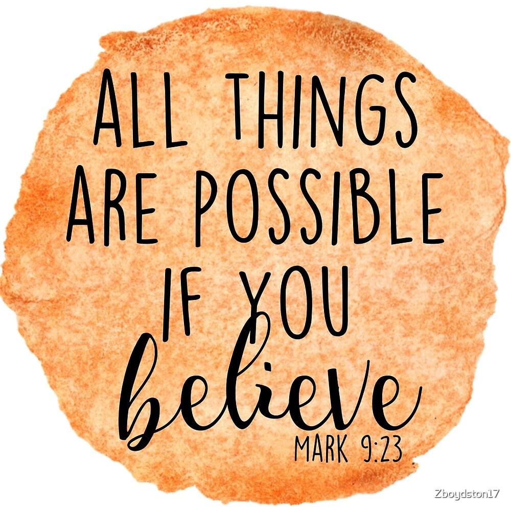 Mark 9:23 by Zboydston17