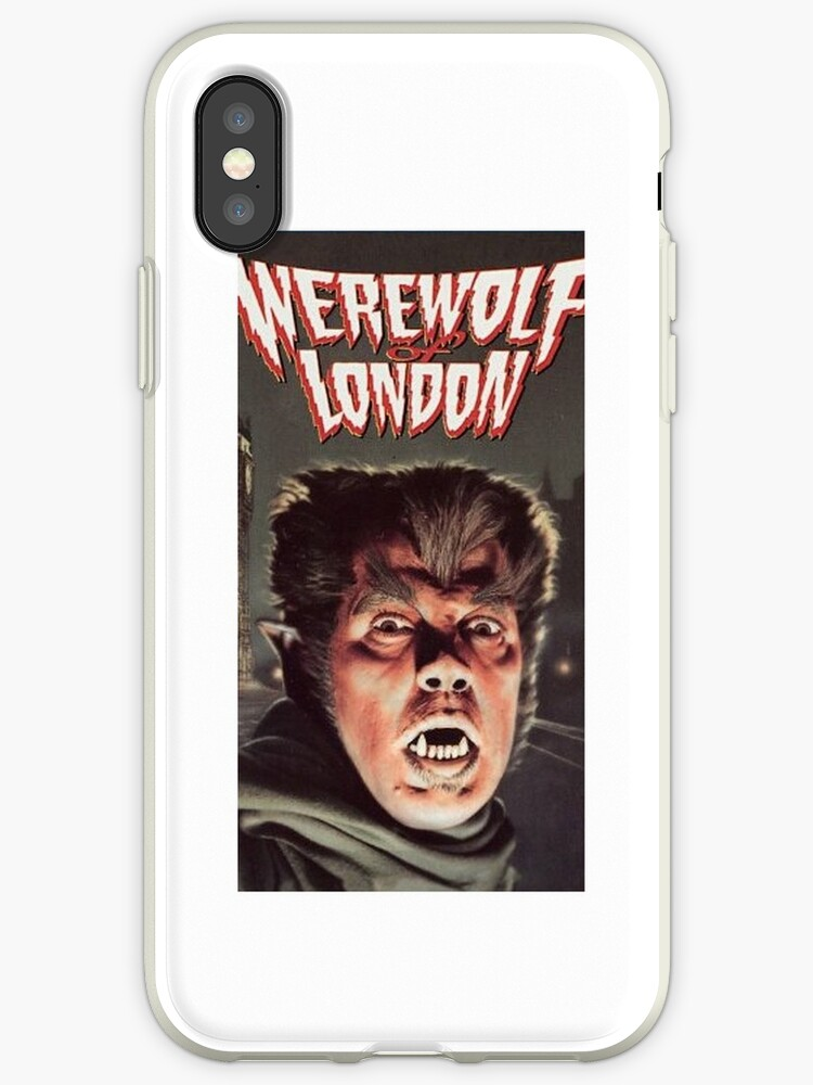 Wolfman phonecase by Jameshall