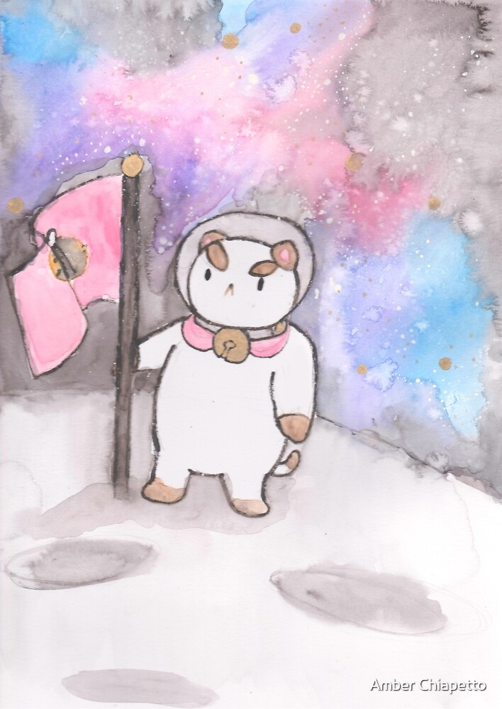 Puppycat in Space by Amber Chiapetto