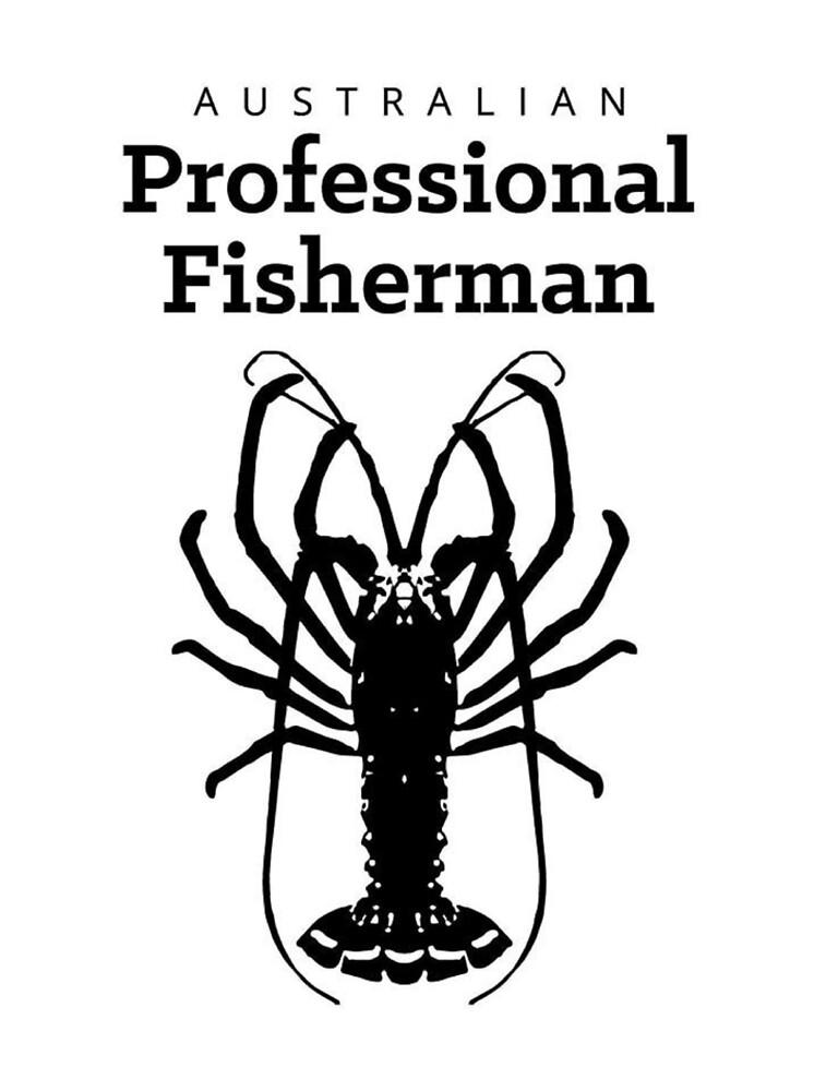 APF Black On White by Australian Professional Fisherman