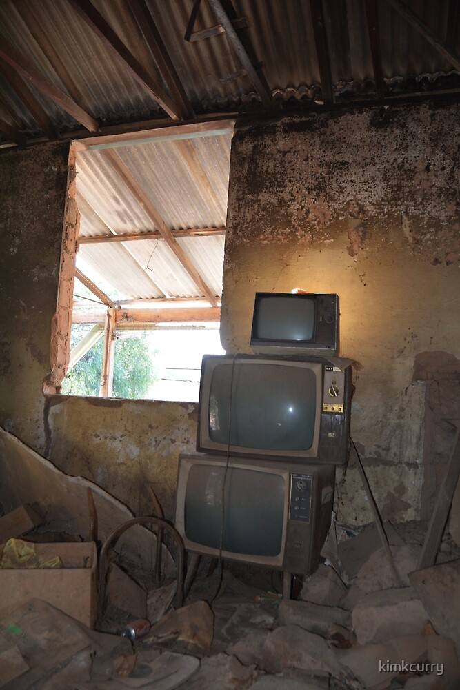 Old Skool TV by kimkcurry