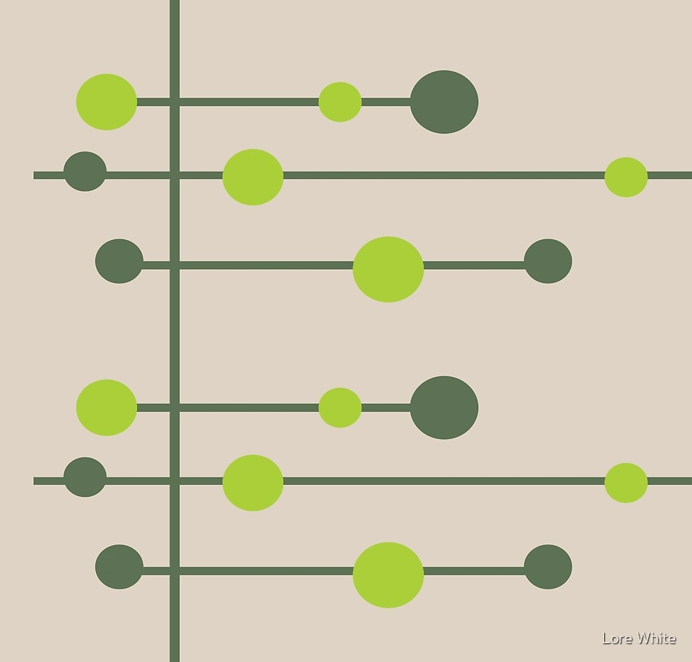 Tan & Green by Lore White