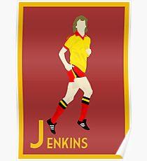 J: Ross Jenkins POSTER Poster