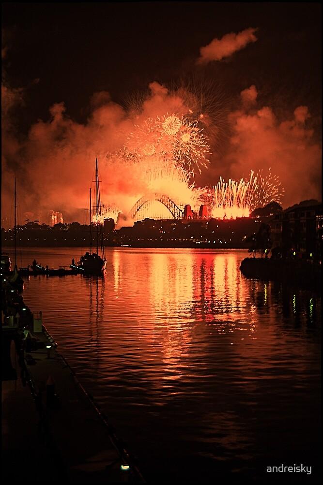 New Year at Jones Bay Wharf by andreisky