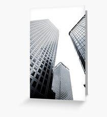 Buildings !!! Greeting Card