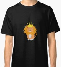 Lion with Crown King Classic T-Shirt