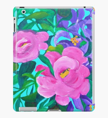 Floral square iPad Case/Skin