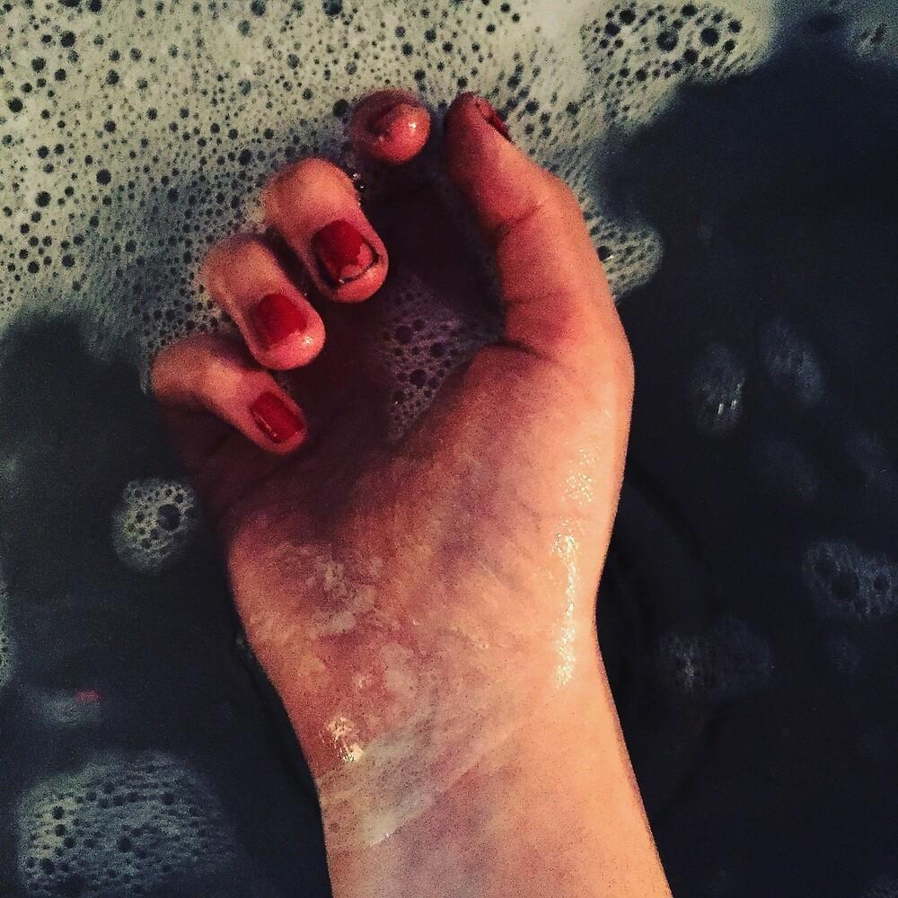 Hand In Water by sophiehampton