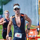 Mike at the Finish 2, 2014.08.17 by Aaron Campbell