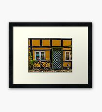 Bicycles of Aero 4 Framed Print