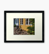 Bicycles of Aero 6 Framed Print