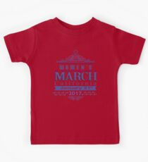 Million Women's March on CALIFORNIA State 2017 Redbubble T Shirts Kids Tee