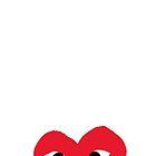 Comme des Garçons Heart by stuttereno
