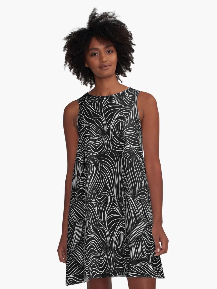 """Curvy Art """"Premium Collection"""" 2017 A-Line Dress Front"""