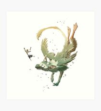 fly together with trico Art Print