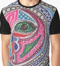 Miscellaneous Coloured Sharpie Design  Graphic T-Shirt