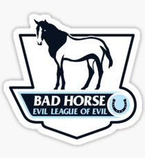 Premier League of Evil Sticker