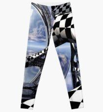 optical art Leggings