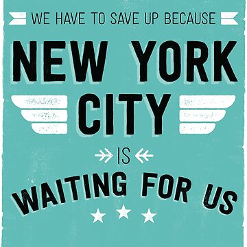 New York is waiting for us de MalvadoPhD