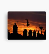 They're at it again! Canvas Print