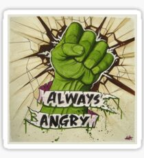 Always Angry Sticker