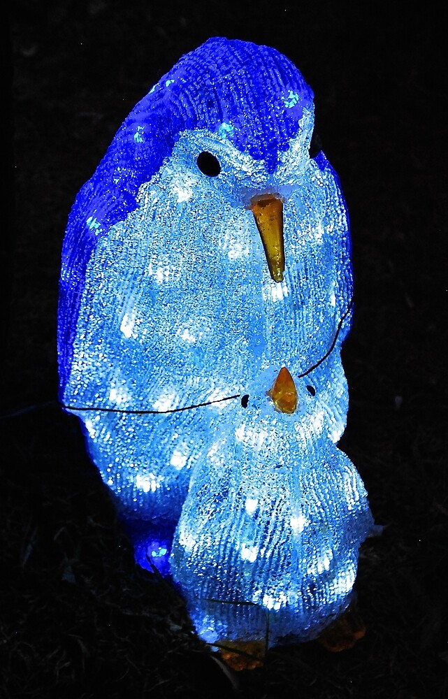 Christmas Penguin # 2 by Penny Smith