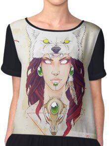 Mononoke Women's Chiffon Top