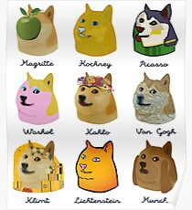 A Brief History of Doge Artists Poster