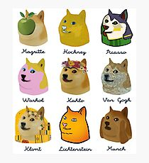 A Brief History of Doge Artists Photographic Print
