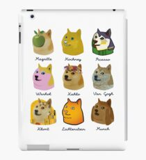 A Brief History of Doge Artists iPad Case/Skin