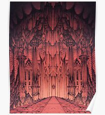 The Gates of Barad Dûr Poster