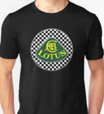 Lotus Checkered Finish Unisex T-Shirt