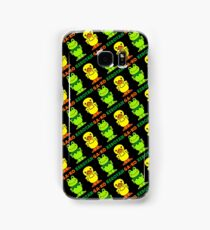 GA-KO Kerotan Design - Black Background Samsung Galaxy Case/Skin