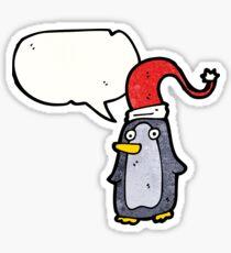 cartoon penguin Sticker