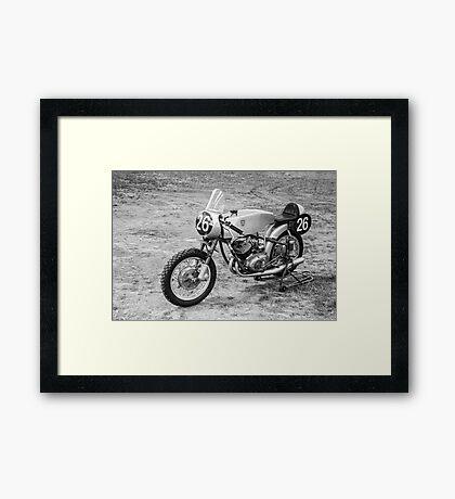 German Classic Racing Motorcycle Framed Print