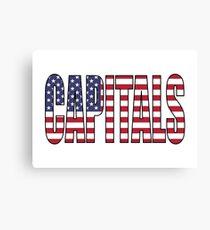 Capitals Canvas Print