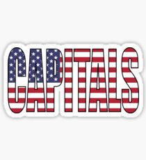 Capitals Sticker