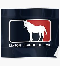 Major League of Evil Poster
