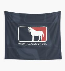 Major League of Evil Wall Tapestry