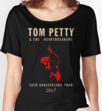 40th anniversary tour tom petty Women's Relaxed Fit T-Shirt