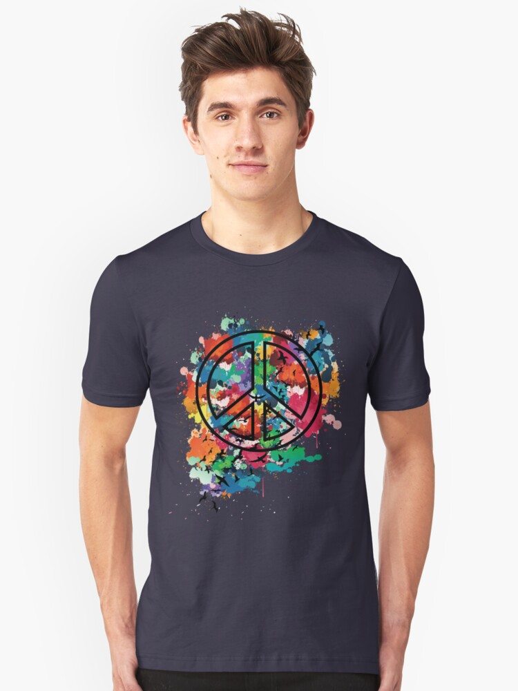 Peace & Freedom Unisex T-Shirt Front