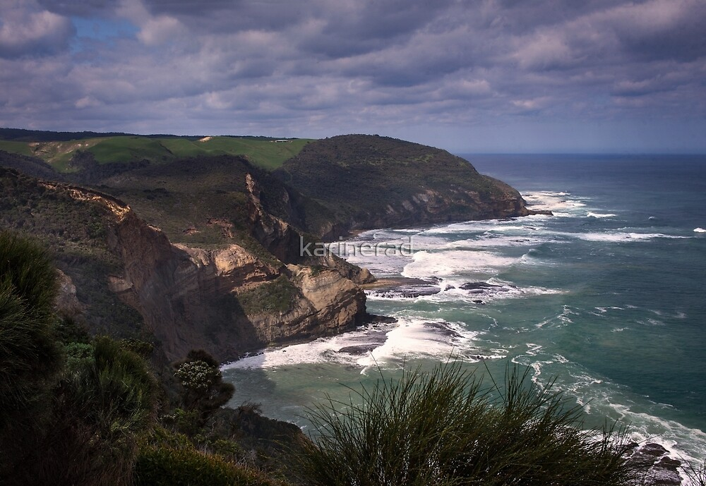 Along the Coast by Karine Radcliffe