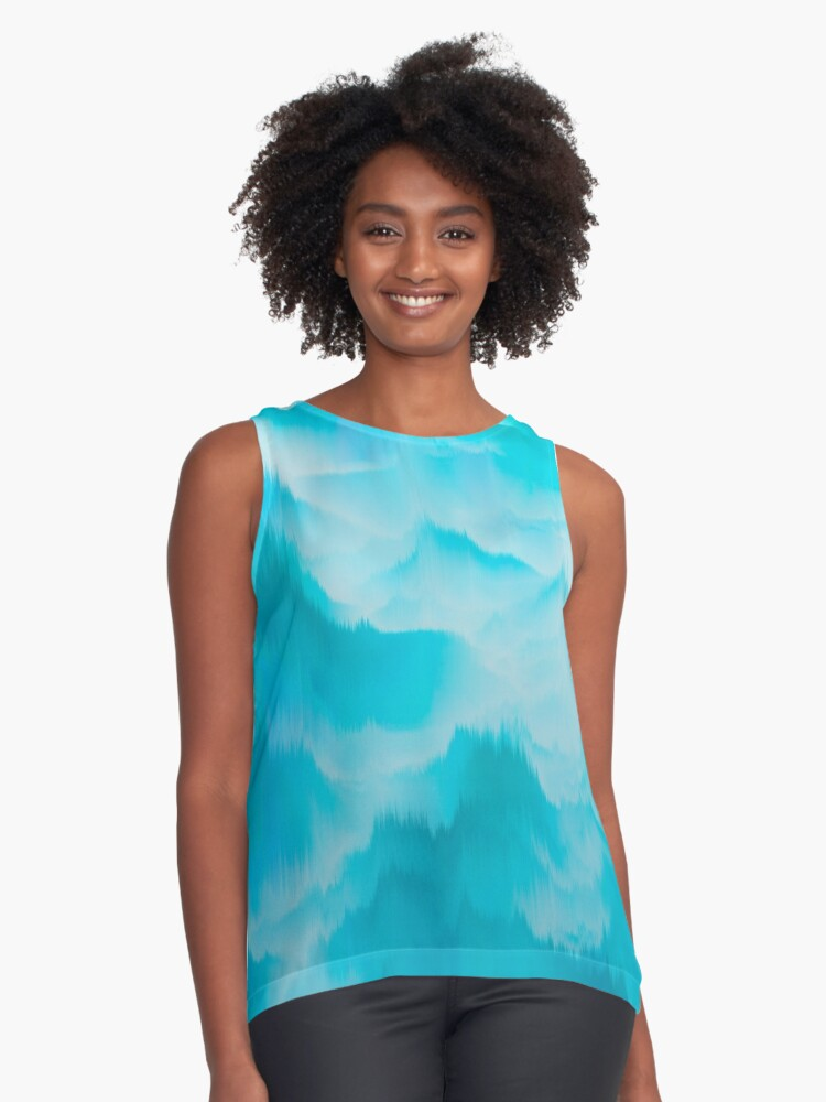 Clouds and mountains. Abstract. Contrast Tank Front