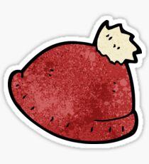 cartoon knitted hat Sticker