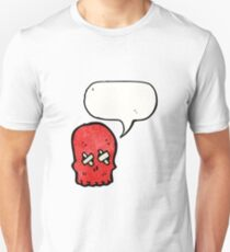 spooky skull cartoon Unisex T-Shirt
